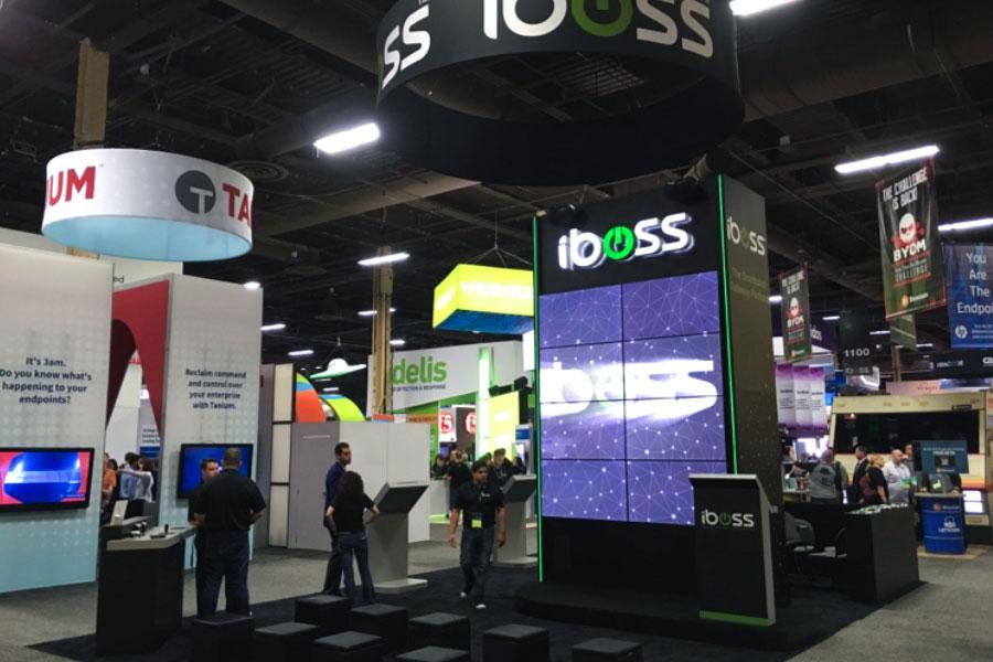 Trade Show Displays - iboss - 20 x 30 Display